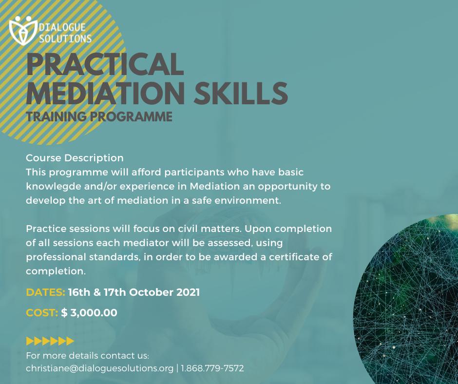 Practical Mediation session